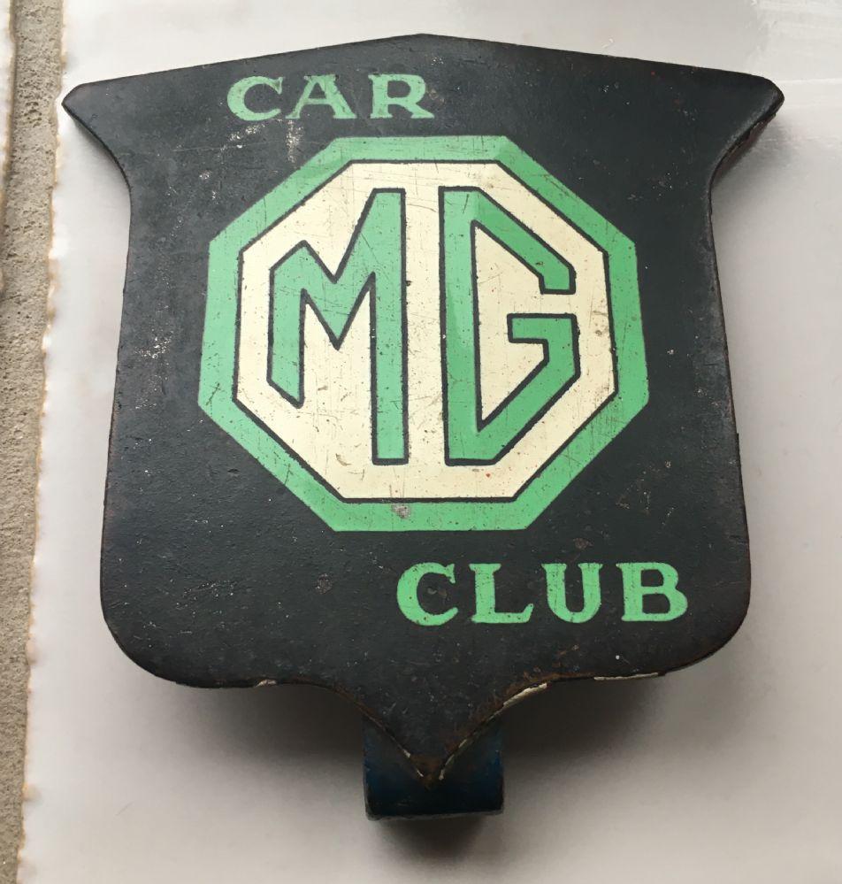 Triple M Register Mystery Pre War Mg Car Club Badge