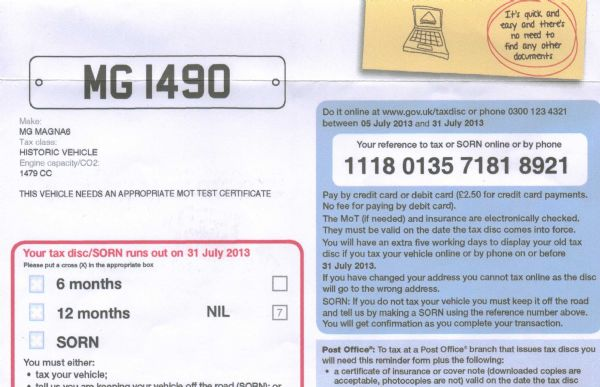 Triple M Register To Mot Or Not To Mot That Is The Question