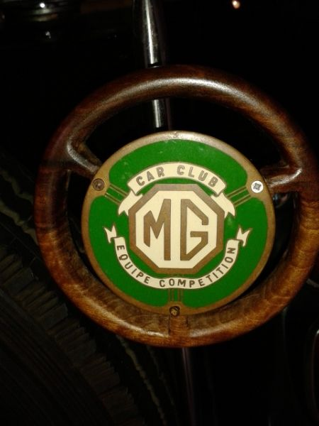 Triple M Register Old Mg Car Badge
