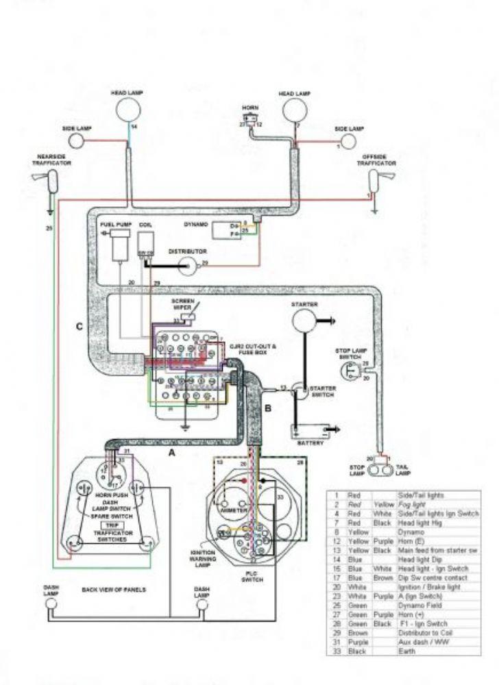 m register pa wiring diagram